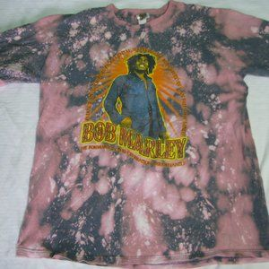 Vintage Bob Marley Tie-Dye T-Shirt